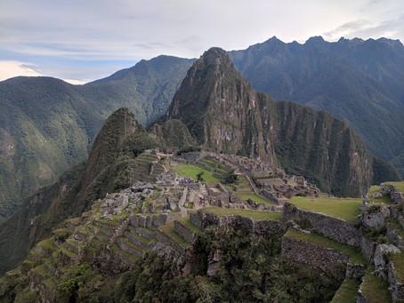 The Salkantay Trek to Machu Picchu - Part II: Aguas Calientes, Machu Picchu, and Lima