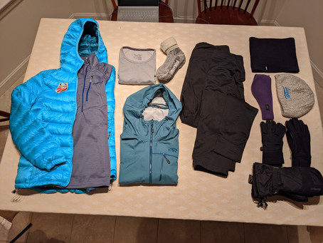 Gear List: Winter Layering