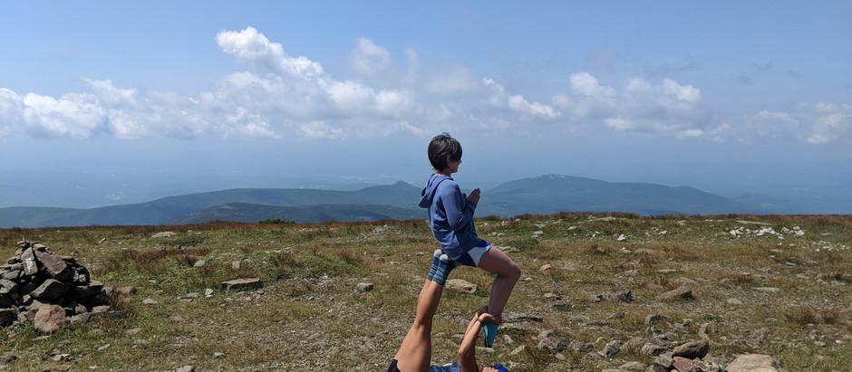 Mt. Moosilauke: Car Camping and Summit Yoga