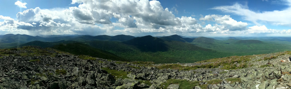 Sugarloaf, Spaulding, and Abraham: Crazy Weather for a Maine Traverse