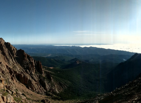 Pikes Peak: A Tough Climb for My First 14er!