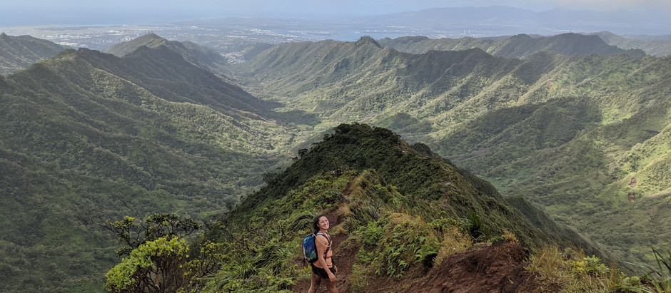 The Haiku Stairs: Hiking the Illegal Icon the Long Way