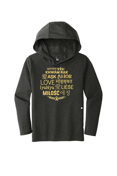 LOVE Pullover Hoodie - Kids