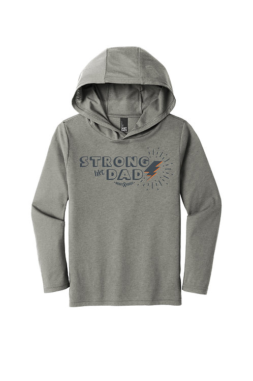Strong Like Dad Pullover Hoodie - Kid