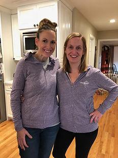 sisters wearing bravehoods hoodies