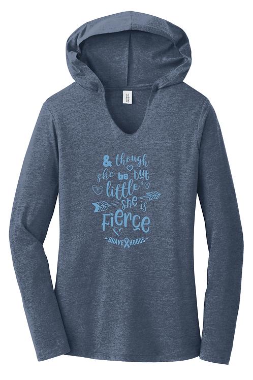 She's Little but Fierce Pullover Hoodie - Ladies'