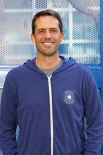 adult male wearing bravehoods hoodie