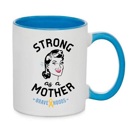 Mug - Strong as a Mother - Retro
