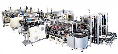Automatic Assembly Line for Alternators.