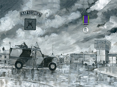 RAF Regiment NI Scene