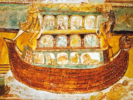 Wejdź do arki.