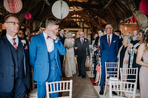 What is the best bit of a wedding day?