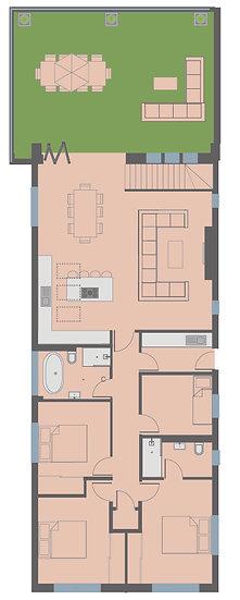 copy of Plot 1 - 3 Bed Home - Spurway Gardens