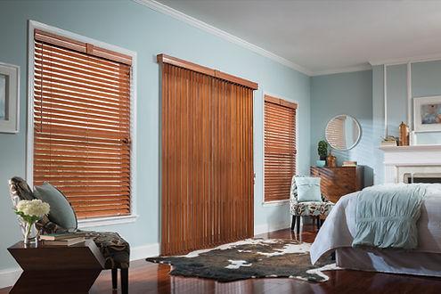 wood blinds vertical blinds