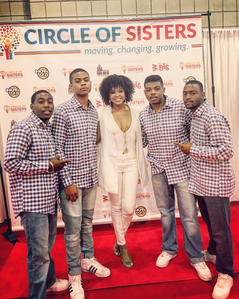 Demetria Mckinney! x The Group Fire