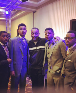 Your boys and Lee Micheal