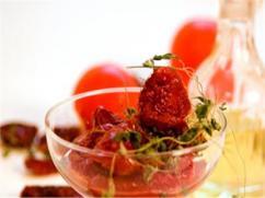 Ensalada de Tomates Secos y Jengibre