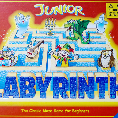 Junior Labyrinth, maze game.