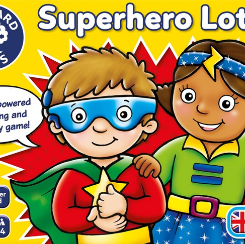 Superhero Lotto!