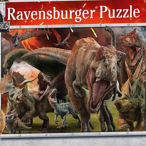 Jurassic World: Fallen Kingdom Jigsaw Puzzle Review