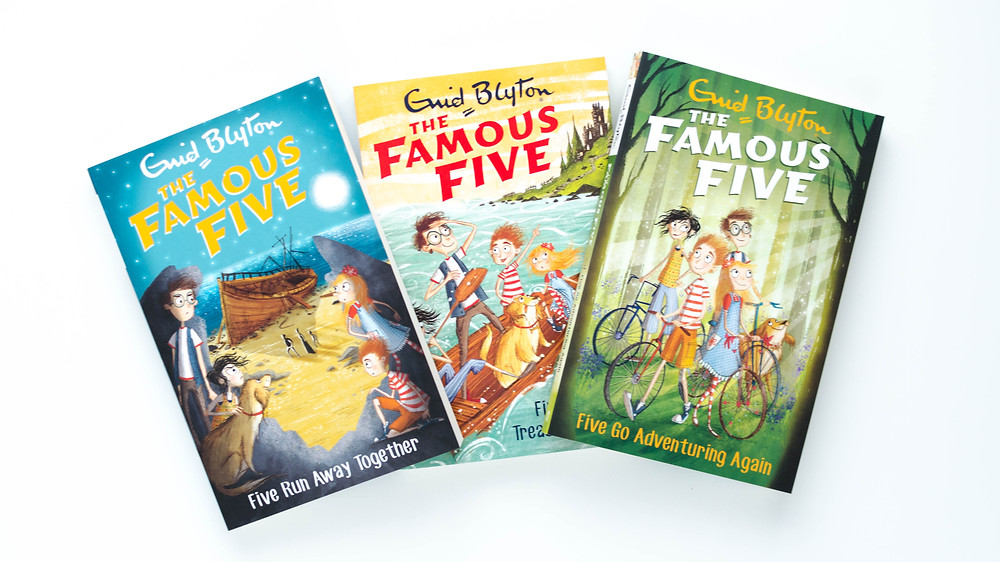 Famous five books