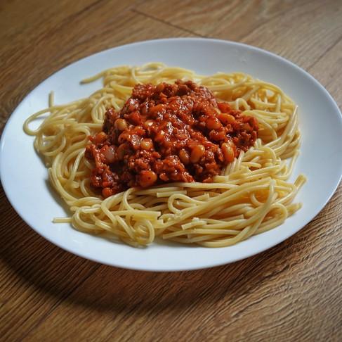 Simple Vegan Spaghetti Bolognese