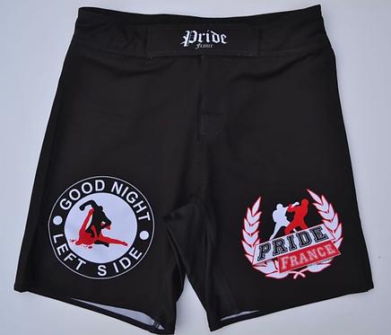 Short noir MMA
