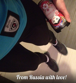 "Merci à Anastasia de ""Russie"""