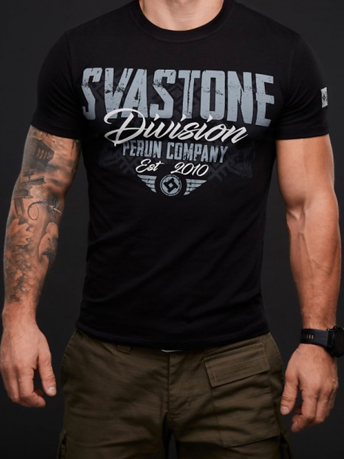 T shirt noir svastone
