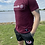 Thumbnail: T shirt Bordeaux casual