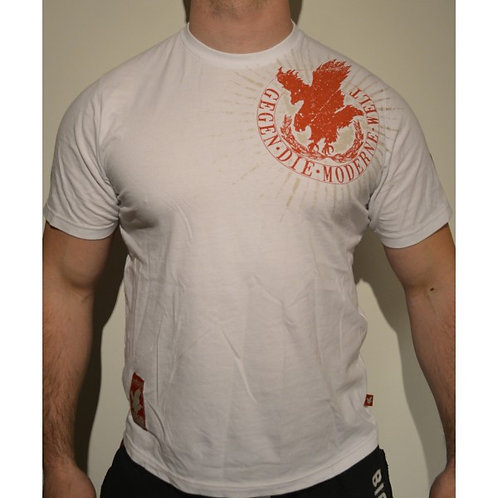 T SHIRT BLANC GREIFVOGEL RED EAGLE