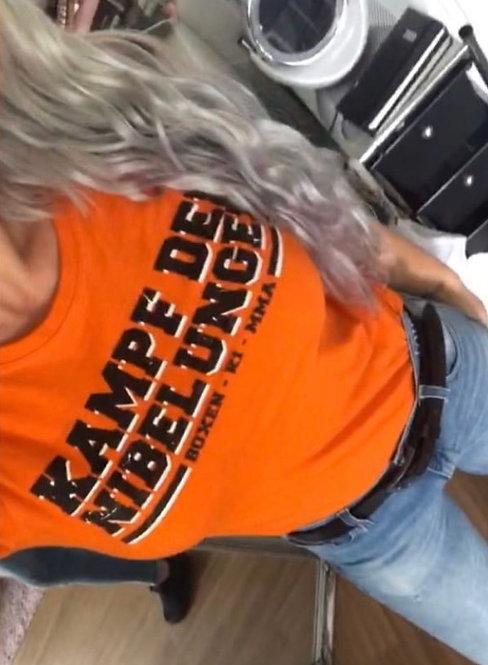 T shirt orange KDN girly
