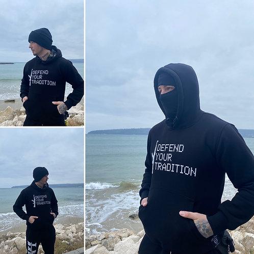 "Sweat a capuche ninja ""Defend your tradition"" vol II"