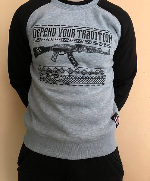 Sweat «defend your tradition»