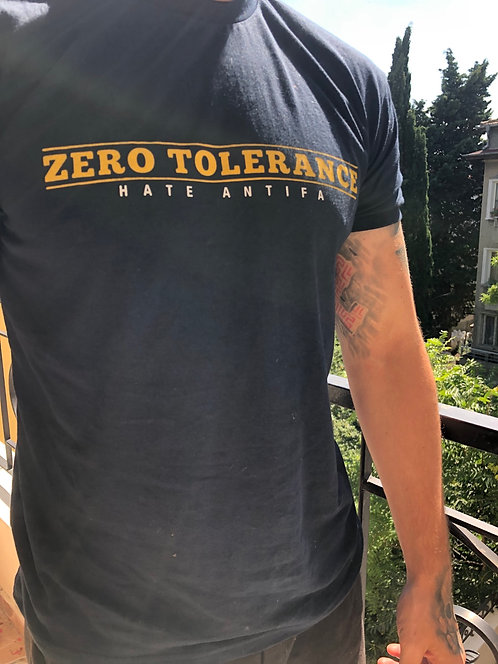 Zero tolerance hate antifa
