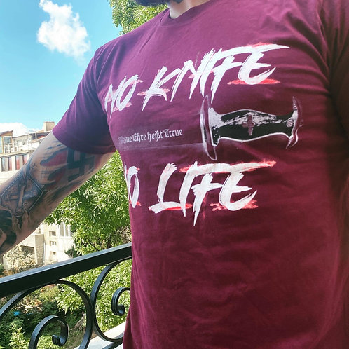 No knife no life bordeaux