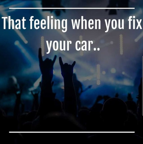 We know how it feels to get that car fixed!