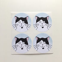 Four Our Dave Stickers Blue.jpg