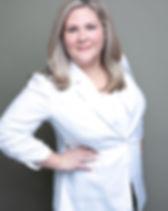 Audrey Gould Dark Background White Top.j