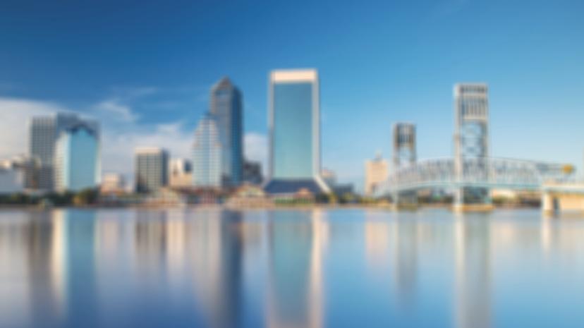Background image of Jacksonville Florida