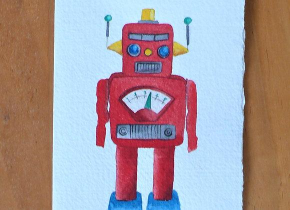 A6 CARD ROBOT
