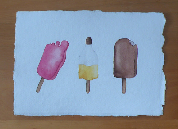 A5 DRAWING ICE CREAM