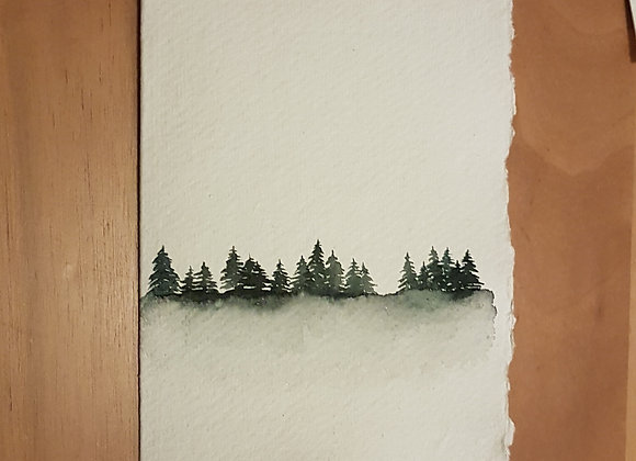 A6 CARD FOREST