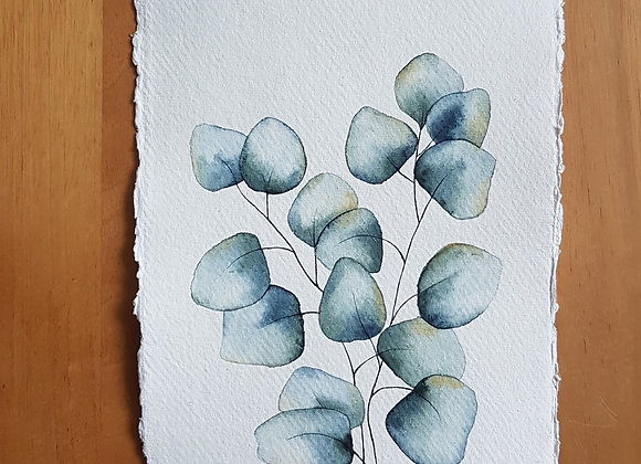 A5 DRAWING LEAVES