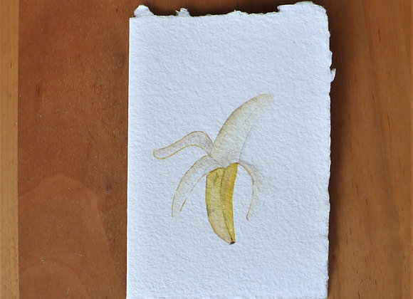 A6 CARD BANANA CHERRY