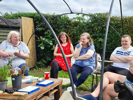 Inspirational Allotment group turn their hand to poetry!