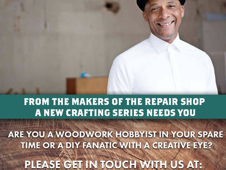Are you a woodworker looking to improve your skills? TV opportunity!!