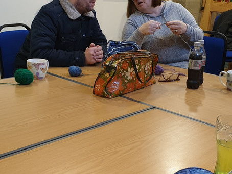 Planting, Knitting, Crafts, what have we been up to at the Centre?