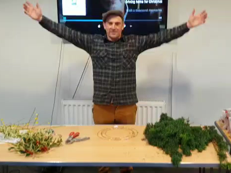 A thrifty Yorkshire mans guide to simple Christmas wreath making