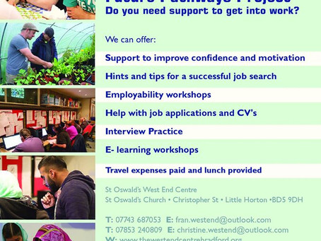 Support to get into work in a friendly environment?